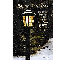 My Wish ~ For the New Year Photographic Print