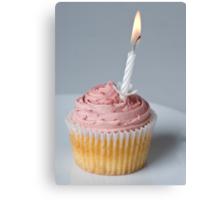 Birthday Cupcake! Canvas Print