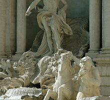 Trevi fountain, Rome, Italy by buttonpresser