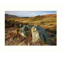 Hebden Rocks Art Print