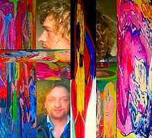 "Works of colour vibrancy ""Trapped inside color"" by tim norman"