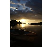 Blakeney, Norfolk...Evening Sun Photographic Print