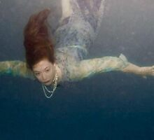 Submerged Series Ophelia in Pearls by Patricia Ridenour