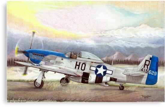 """""""Alden Rigby - Blue Nose Warrior"""" by Trenton Hill"""