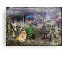 The Bride (A Victorian Fantasy) Metal Print