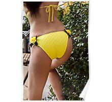 Yellow Rose Butt???? Poster