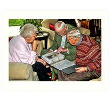 Sharing Memories Art Print
