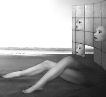 Desolate - Self Portrait by Jaeda DeWalt