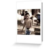 Dominic Greeting Card