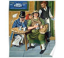 cushie butterfield  a folk legend of newcastle on tyne Poster