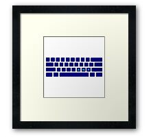 Any Key Framed Print