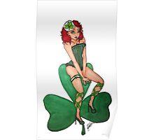 St. Patrick Pin Up Poster