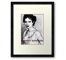 Dorothy Dandridge Framed Print
