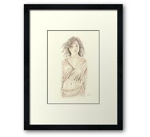 """Reon"" Colour Pencil Artwork Framed Print"