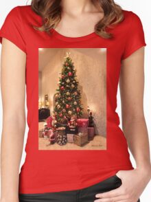 Christmas ~ It Was the Best of Times Women's Fitted Scoop T-Shirt