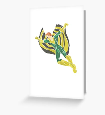 banshee Greeting Card