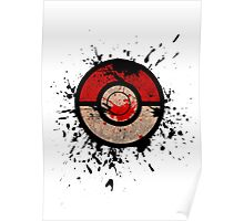 Pokeball-Splash! Poster