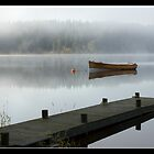 Loch Ard Mist by Empato Photography