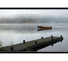 Loch Ard Mist Photographic Print