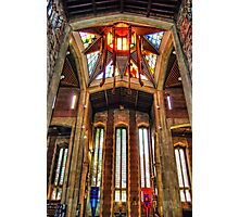 Sheffield Cathedral Lantern Tower Photographic Print