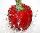 splash of red by Ingz