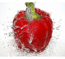 splash of red Photographic Print