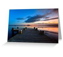 Lake Rotorua, NZ Greeting Card