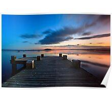 Lake Rotorua, NZ Poster