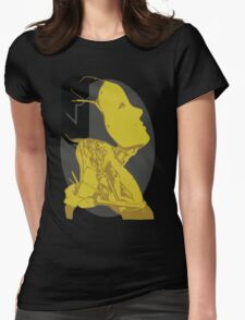 yellow-oculus Womens Fitted T-Shirt