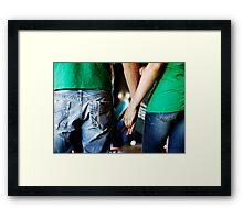 I Wanna Hold Your Hand... Framed Print