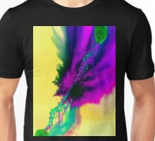 Distraught Peacock Feather Unisex T-Shirt