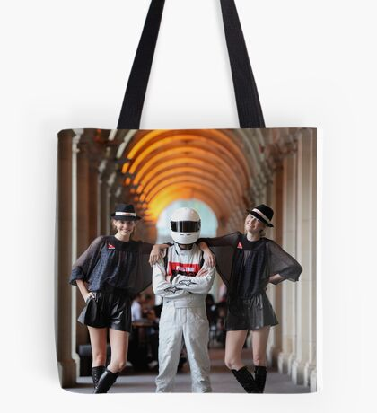 Grid Girls @ Melbourne GPO Tote Bag