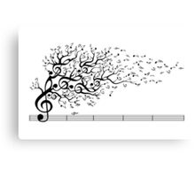 The Sound of Nature Canvas Print