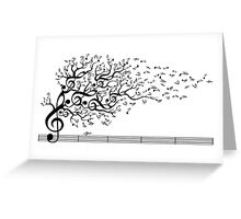 The Sound of Nature Greeting Card