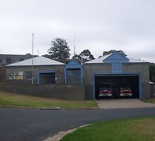 Merimbula 395 Fire Station by roybob
