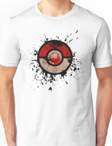 Pokeball-Splash! Unisex T-Shirt