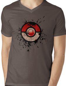Pokeball-Splash! Mens V-Neck T-Shirt