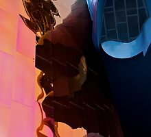 Space needle abstract by Jeffrey  Sinnock