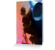 Space needle abstract Greeting Card