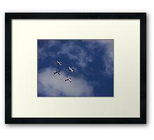 Alpha Jets Framed Print