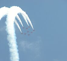Red Arrows by Laura Yates