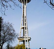 Seatle washington space needle by Jeffrey  Sinnock