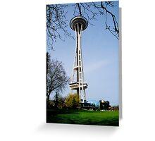 Seatle washington space needle Greeting Card