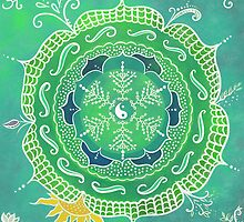 Yoga Teacher Training Mandala by pnwthings