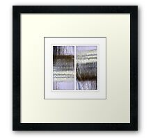 Reflections... alive and real Framed Print