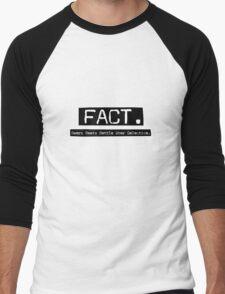 Bears Beets Battle Star Galactica. Men's Baseball ¾ T-Shirt