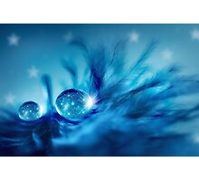 Star drops Photographic Print