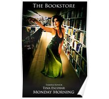 Visiting the Drama Section - The Bookstore Poster