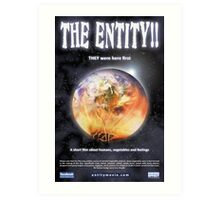 Promotional Poster THE ENTITY!! 01 Art Print