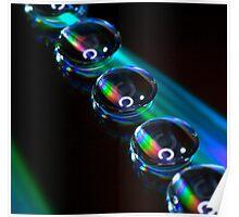 Prism Droplet Poster